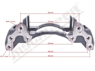Wabco Maxx 22 Caliper Carrier Right sane